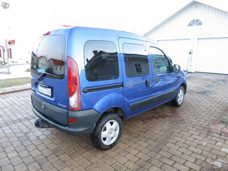 s ld renault kangoo pampa family 1 begagnad 2001 mil i sk vde. Black Bedroom Furniture Sets. Home Design Ideas