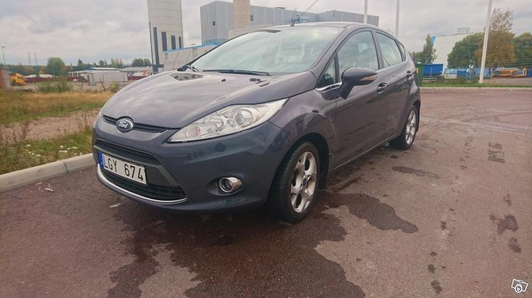cc70b659681 Såld Ford Fiesta Titanium 5D 1.4TD., begagnad 2011, 18 000 mil i Borl
