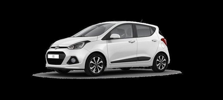 begagnad Hyundai i10 1.0 M5 Comfort Farth. Blå int.