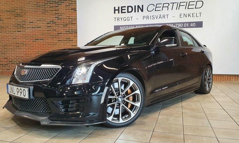 Såld Cadillac ATS 3.6 V6 470hk Twi., begagnad 2015, 6 440 ...