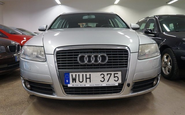 Såld Audi A6 Avant 24 Sv Såld Mot Begagnad 2005 8 820 Mil I