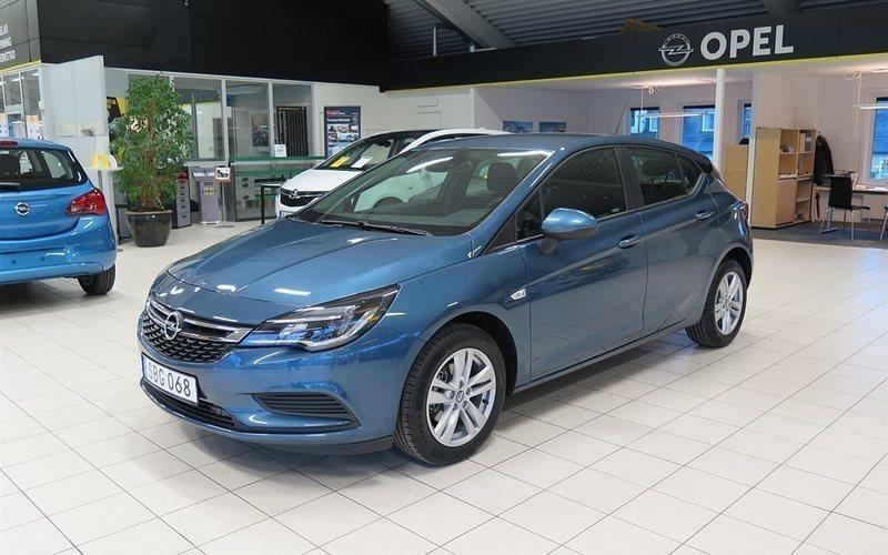 begagnad Opel Astra Enjoy 5d 1.0T/105 hk Pluspaket OnStar 16 Alu