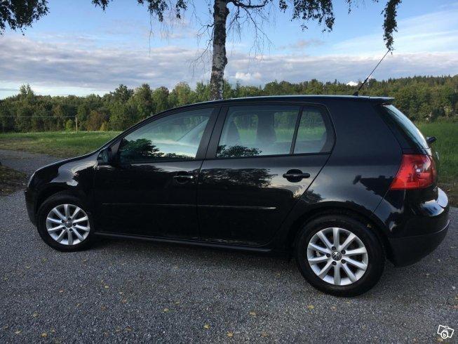 Volkswagen golf svart
