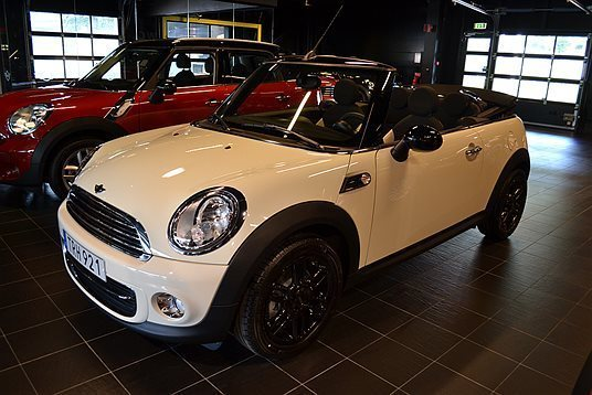 s ld mini cooper cabriolet cabrio begagnad 2014 0 mil. Black Bedroom Furniture Sets. Home Design Ideas