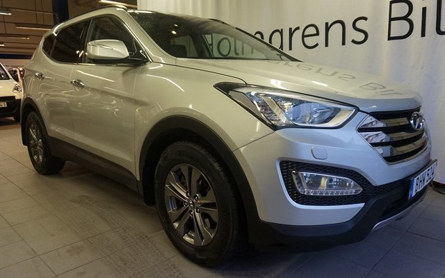 begagnad Hyundai Santa Fe Premium-5 2.2 CRDi-R A6 4WD