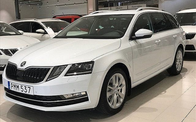 s ld skoda octavia 1 5 tsi 150hk d begagnad 2018 0 mil i sk vde. Black Bedroom Furniture Sets. Home Design Ideas