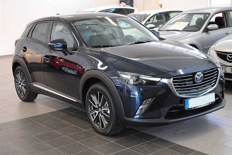 begagnad Mazda CX-3 OPTIMUM 2.0 120 HK2WD AUTOMAT
