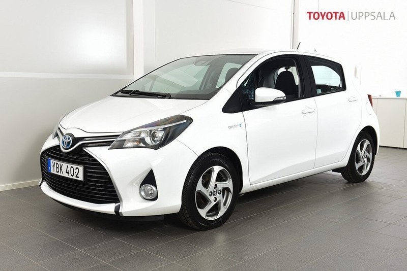 Toyota Yaris 1,5 Elhybrid 5dr Active (75hk) *GPS*