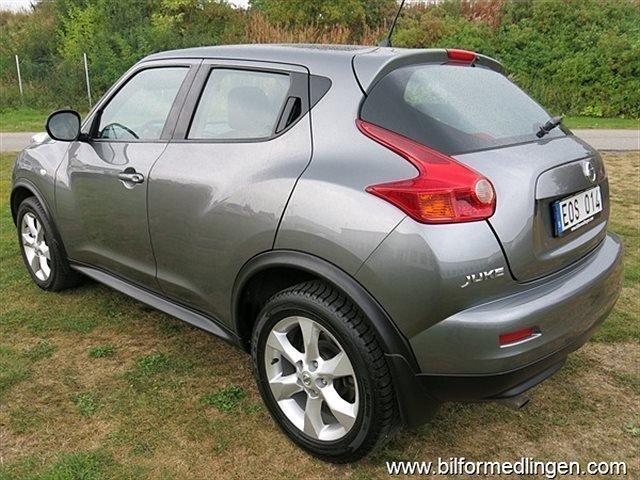S ld nissan juke 1 6 pure drive au begagnad 2012 for Nissan juke lila