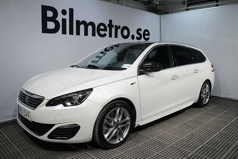 begagnad sw gt 2 0 bluehdi automat 2016 kombi 229 900 kr peugeot 308 2016 km i handen. Black Bedroom Furniture Sets. Home Design Ideas