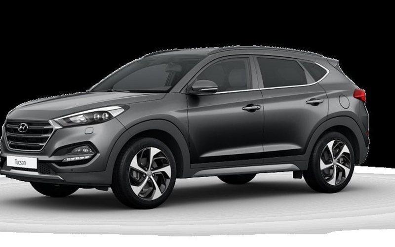 begagnad Hyundai Tucson 1.6 T AUT-D7 4WD ComfortPlus
