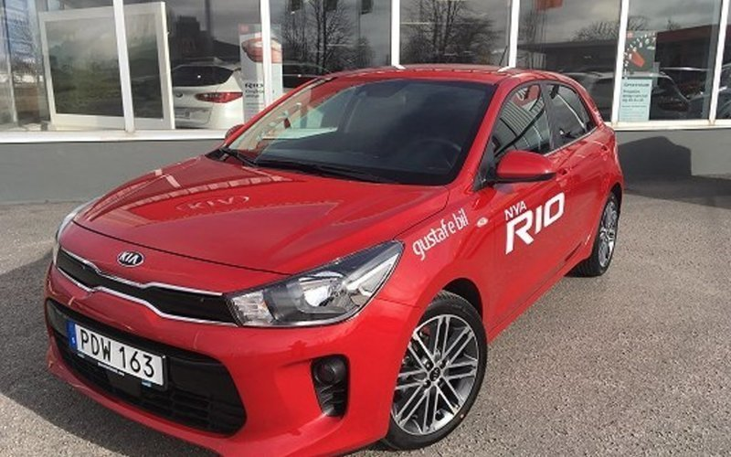 s ld kia rio 1 2 launch edition 20 begagnad 2017 0 mil. Black Bedroom Furniture Sets. Home Design Ideas