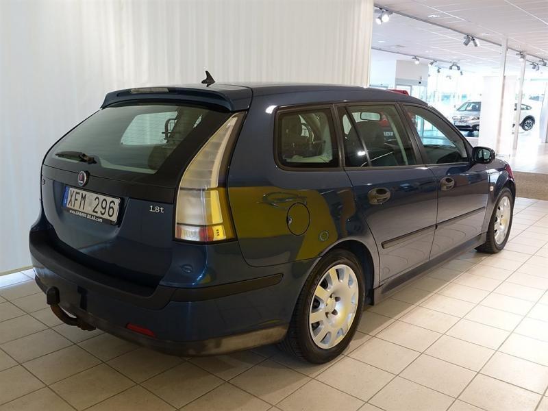Begagnad Saab 9 3 LINEAR SPORTCOMBI 18T 2006 Kombi 49 000 Kr
