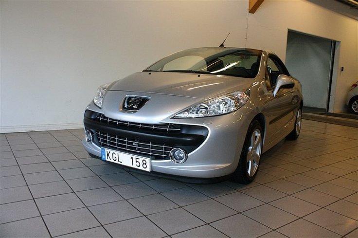 begagnad Peugeot 207 CC 1.6 VTi (120hk)