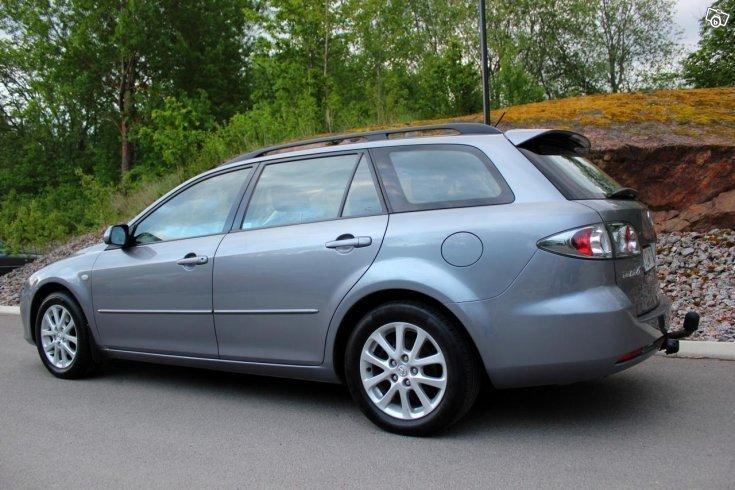 S 229 Ld Mazda 6 Kombi 2 3 Sport Dra Begagnad 2007 17 500 Mil I Link 246 Ping