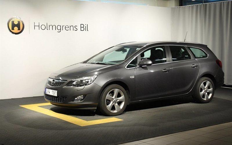 begagnad Opel Astra Kombi 1.4T Sport