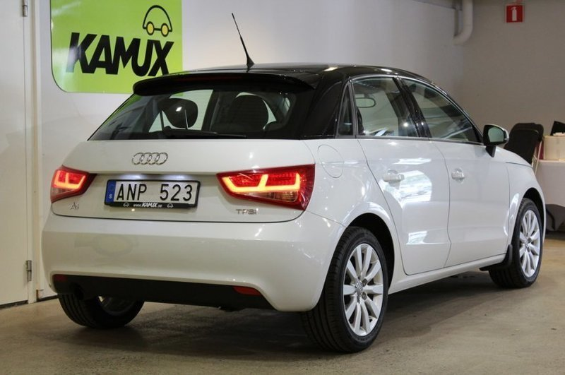 s ld audi a1 sportback 1 2 tfsi sp begagnad 2014 2 930. Black Bedroom Furniture Sets. Home Design Ideas