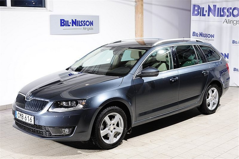 s ld skoda octavia kombi begagnad 2014 mil i alings s. Black Bedroom Furniture Sets. Home Design Ideas