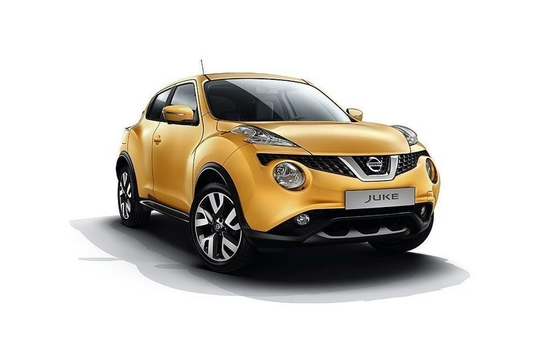 "begagnad Nissan Juke DIG-T 115 N-Connecta Color Pack Yellow 18"" Part Leather"