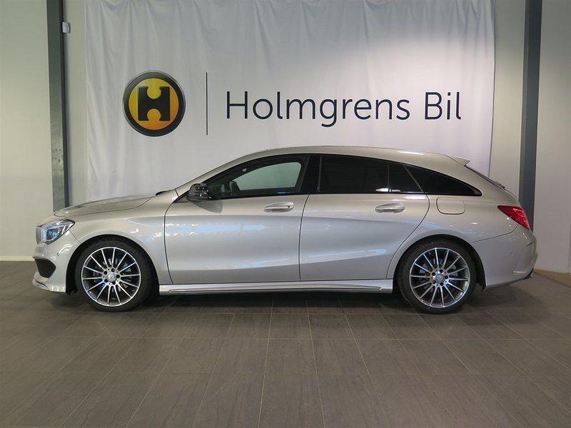 begagnad Mercedes CLA200 Shooting Brake156hk AMG-paket