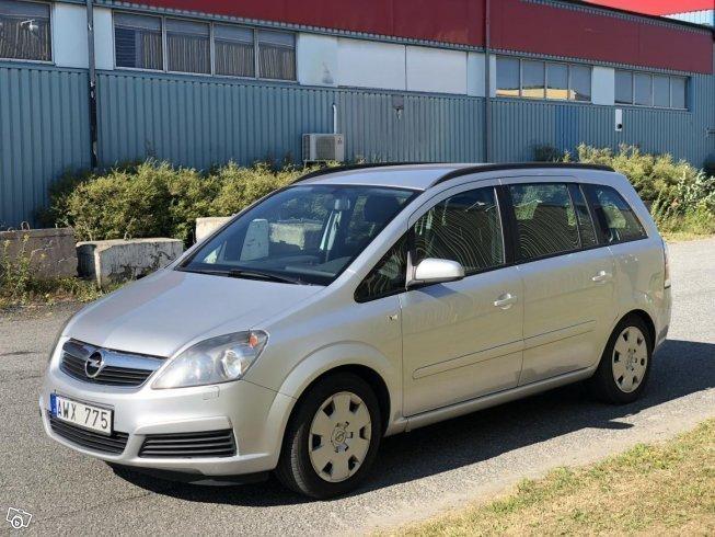 Sld Opel Zafira Cng 7 Sits Bensin Begagnad 2006 19500 Mil I