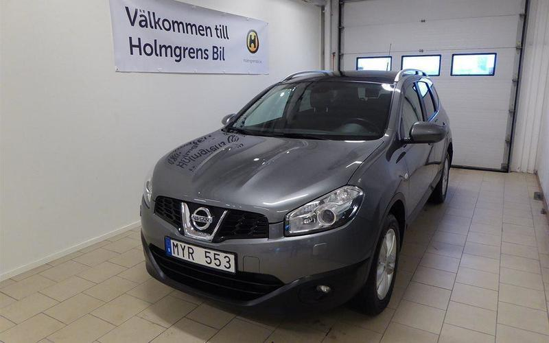 begagnad Nissan Qashqai +2 2,0 Panorama Accenta Connect