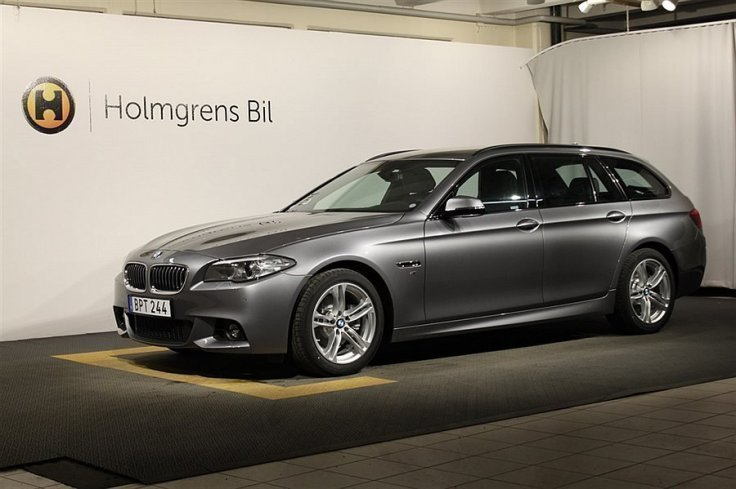 begagnad BMW 520 d xDrive Touring M-Sport, Navigation