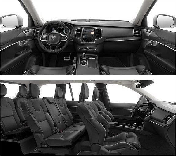 Volvo Xc90 R Design Black Interior: Såld Volvo XC90 D5 AWD R-Design 7-., Begagnad 2017, 0 Mil