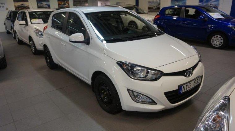 begagnad Hyundai i20 1.4 (100hk)