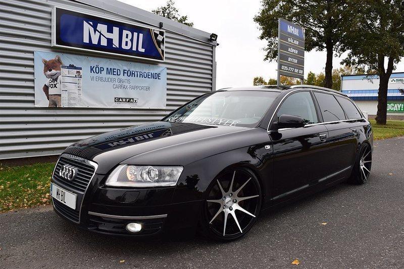 S 229 Ld Audi A6 2 0t Stance Tyskstuk Begagnad 2006 30 600 Mil I Halland