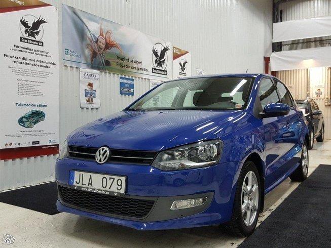 Begagnad Byt Din bil hos oss VW Polo – 2010, km 5.800 i Västra Götaland