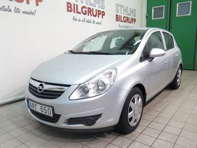 begagnad 1 3 cdti ecoflex 5dr 2008 kombi 59 800 kr opel corsa 2008 km i j nk ping. Black Bedroom Furniture Sets. Home Design Ideas