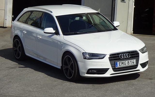 Såld Audi A4 20 Tdi Quattro Autom Begagnad 2013 16 500 Mil I