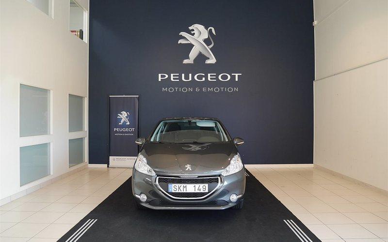 begagnad Peugeot 208 5D ACTIVE 1,2 VTI