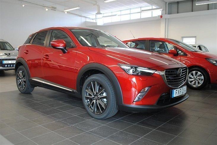 begagnad Mazda CX-3 OPTIMUM 2.0 120 HK 2WD AUTOMAT -