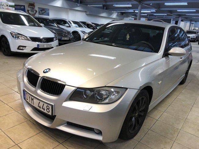 Såld BMW 318 d Sedan M Sport Obs G , begagnad 2007, 16 000