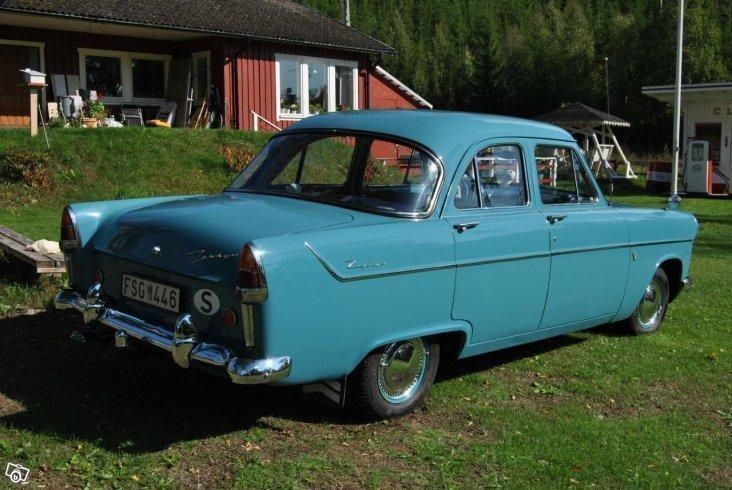 Sald Ford Zephyr Six Mk 2 Begagnad 1956 4 500 Mil I Eksjo