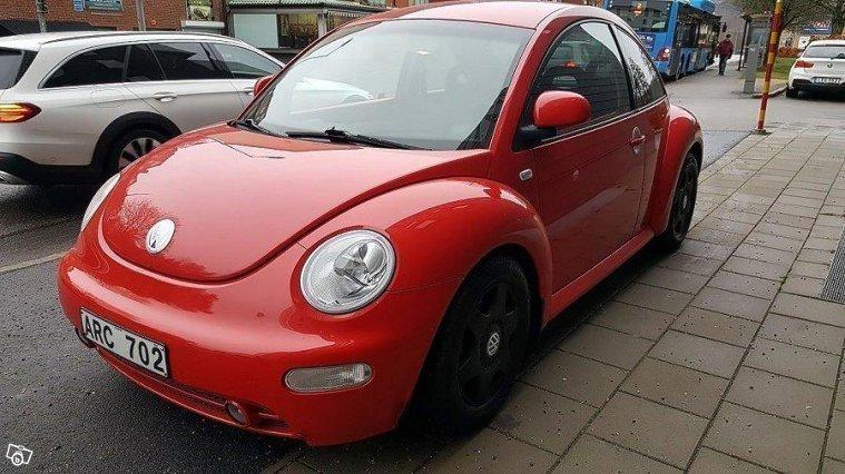 s ld vw beetle beetle 2 0 99 begagnad 1999 mil i. Black Bedroom Furniture Sets. Home Design Ideas