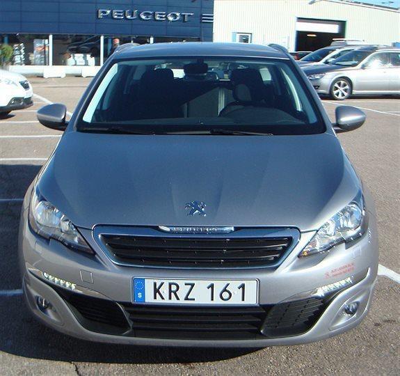 Såld Peugeot 308 SW 2,0 BlueHDi 15., Begagnad 2015, 750