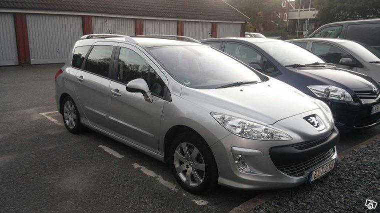 S U00e5ld Peugeot 308 Sw 1 6 T Premium     Begagnad 2010  8 249