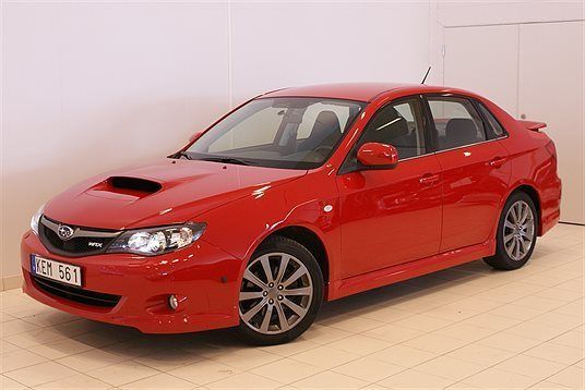 begagnad Subaru Impreza WRX 265 HK Sedan