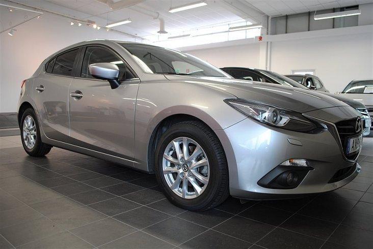 begagnad Mazda 3 VISION 2.2 150 HK AUTOMAT -15