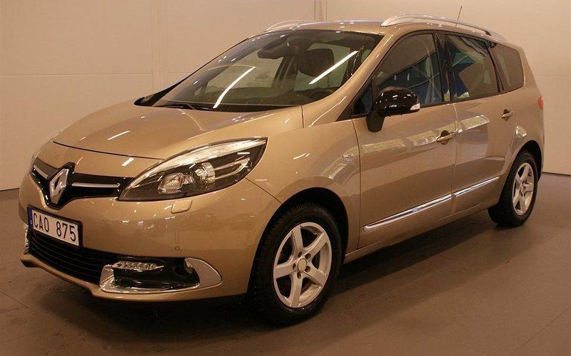 begagnad Renault Grand Scénic III 1.5 dCi FAP Vinterhjul 2013, Kombi 184 900 kr