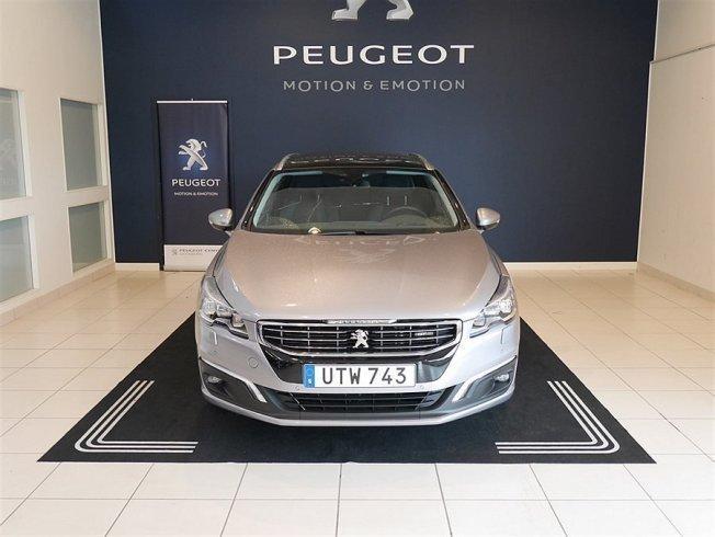 begagnad Peugeot 508 SW GT 2,0 BHDi 180 hk AUT