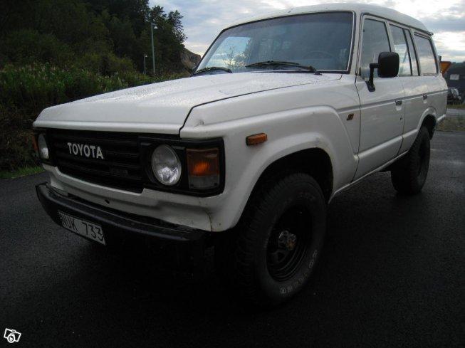 Sld Toyota Land Cruiser HJ60 87 Begagnad 1987 32499