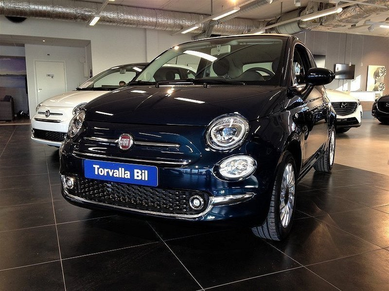 s ld fiat 500c lounge beige cab begagnad 2016 0 mil i gustavsberg. Black Bedroom Furniture Sets. Home Design Ideas
