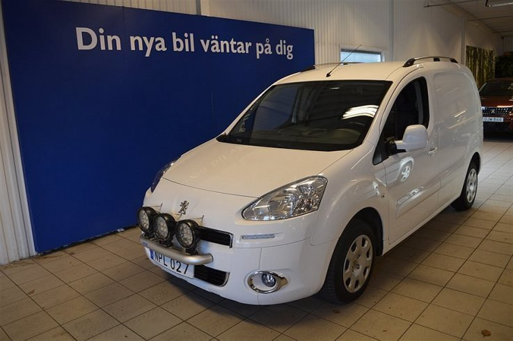 begagnad Peugeot Partner Skåp L1H1 1,6 -HDi 90HK