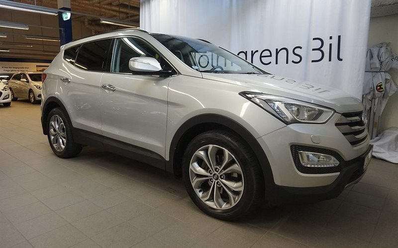 begagnad Hyundai Santa Fe Premium-5 2.2 CRDi-R 4WD (197hk)