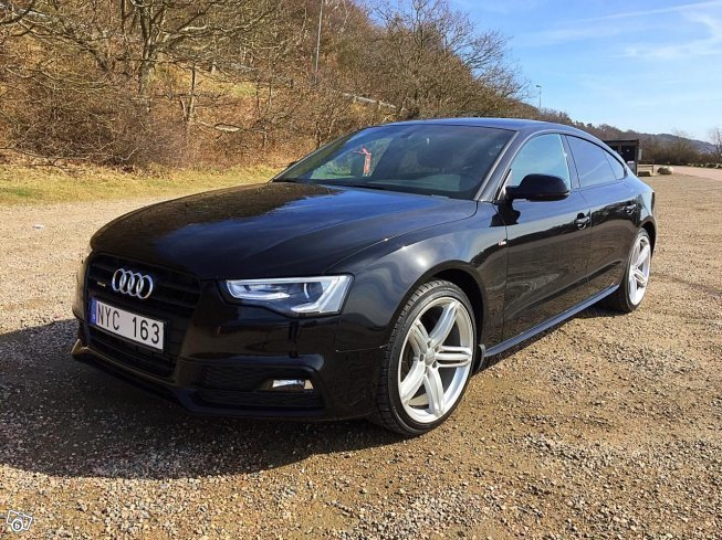 S 229 Ld Audi A5 Sportback 2 0 Tfsi 22 Begagnad 2015 998 Mil I Uppsala