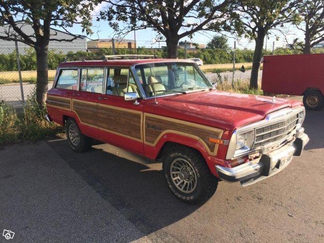 jeep wagoneer till salu